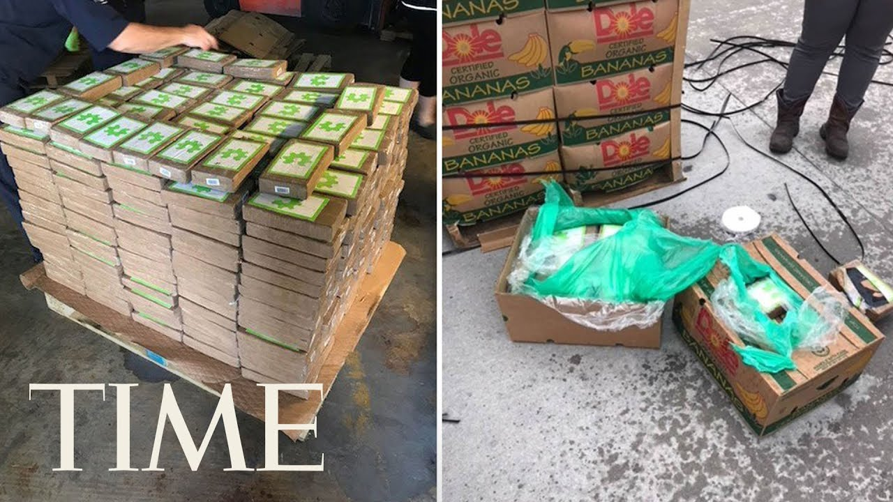 foto Texas prison is delivered 18 million in cocaine disguised as bananas