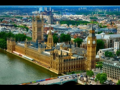 Beauty Of London - Amazing aerial view