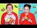 Идеи смешных бутербродов / Фудхаки с Эльфиком 🐞 Эльфинка