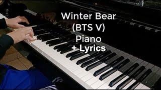 winter bear piano cover + lyrics