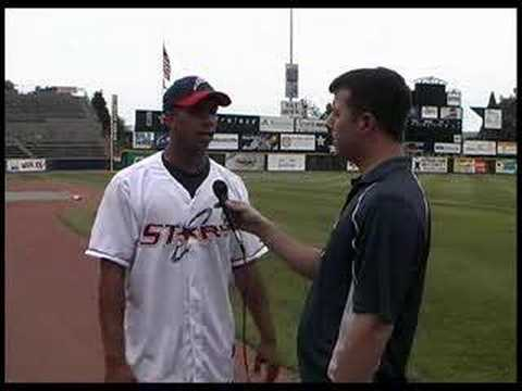 Michael Brantley- Interview May 2008 Huntsville Stars