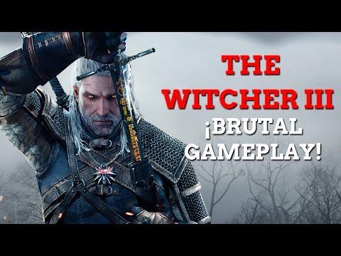 Gameplay de The Witcher 3 Wild Hunt