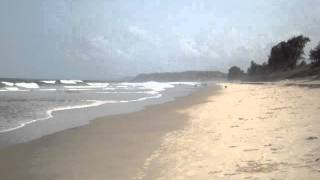 Calm Beach : Shiroda Konkan Beach Vengurla Sindhudurg, Maharashtra - Indian Beach Video