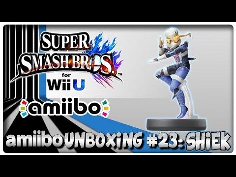 Amiibo Unboxing #23: Shiek + Super Smash Bros. U & Hyrule Warriors Features