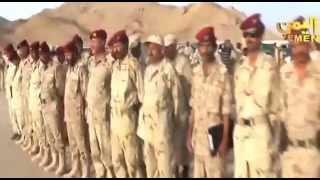 شاهد واستمع لاغنية جديدة للجيش الوطني التابع للشرعية بصوت الفنان احمد فتحي