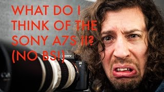 Sony A7S II Opinion - YouTube Trolls Are Going To Love This! Resimi