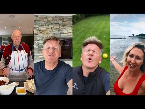 GORDAN RAMSAY REACTS to tik tok (CHEFS FROM HELL) - Part 2 MUST WATCH