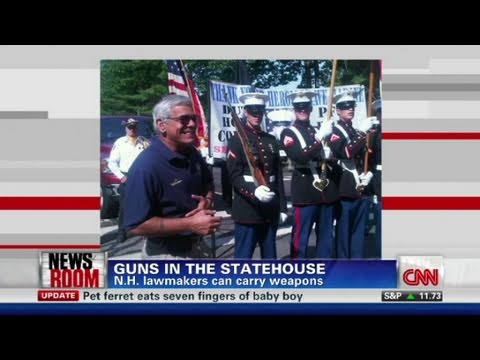 CNN: In defense of guns in New Hampshire statehouse