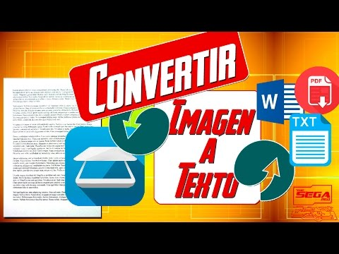 Convertir Imagen A Texto [WORD, PDF, TXT] | Fácil Y Sin Programas