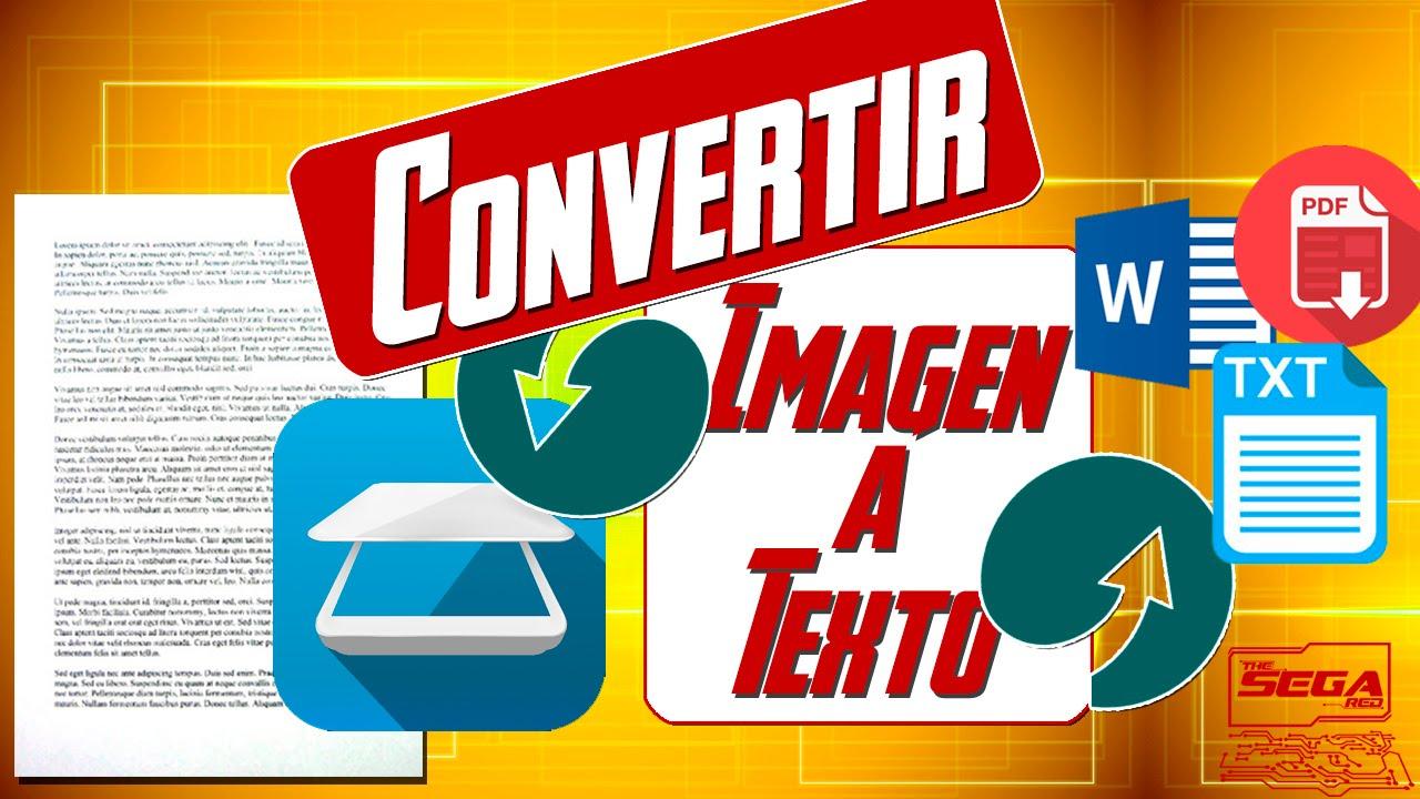 Convertir Imagen A Texto Word Pdf Txt Fácil Y Sin Programas Youtube