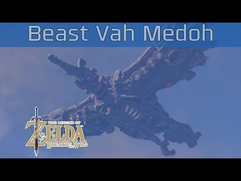 The Legend of Zelda: Breath of the Wild - Divine Beast Vah Medoh Walkthrough [HD 1080P]