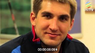 Лица Универсиады №16. Водное поло: Сергей Лисунов (17.06.2013, UNI TV)