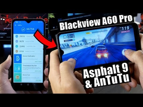 Blackview A60 Pro Performance Test: Benchmarks and Games