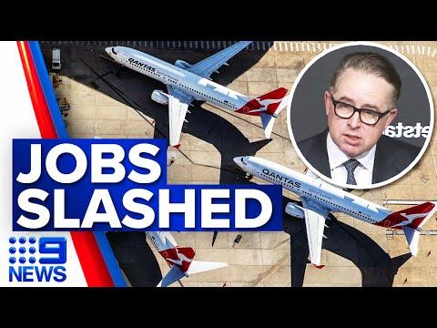 Qantas stands down staff without pay | Coronavirus | 9 News Australia