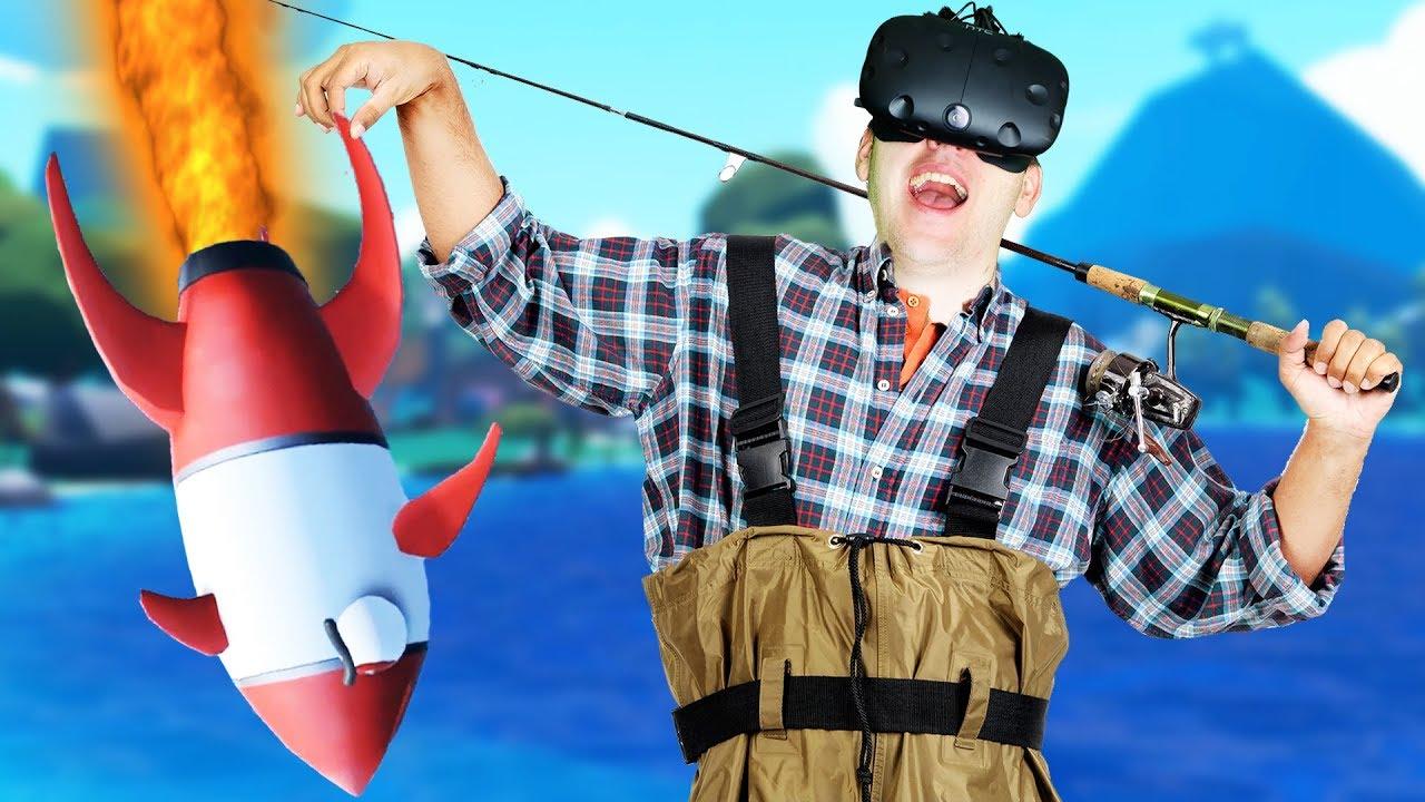 Flying rocket fish crazy fishing gameplay vr htc vive for Crazy fishing vr