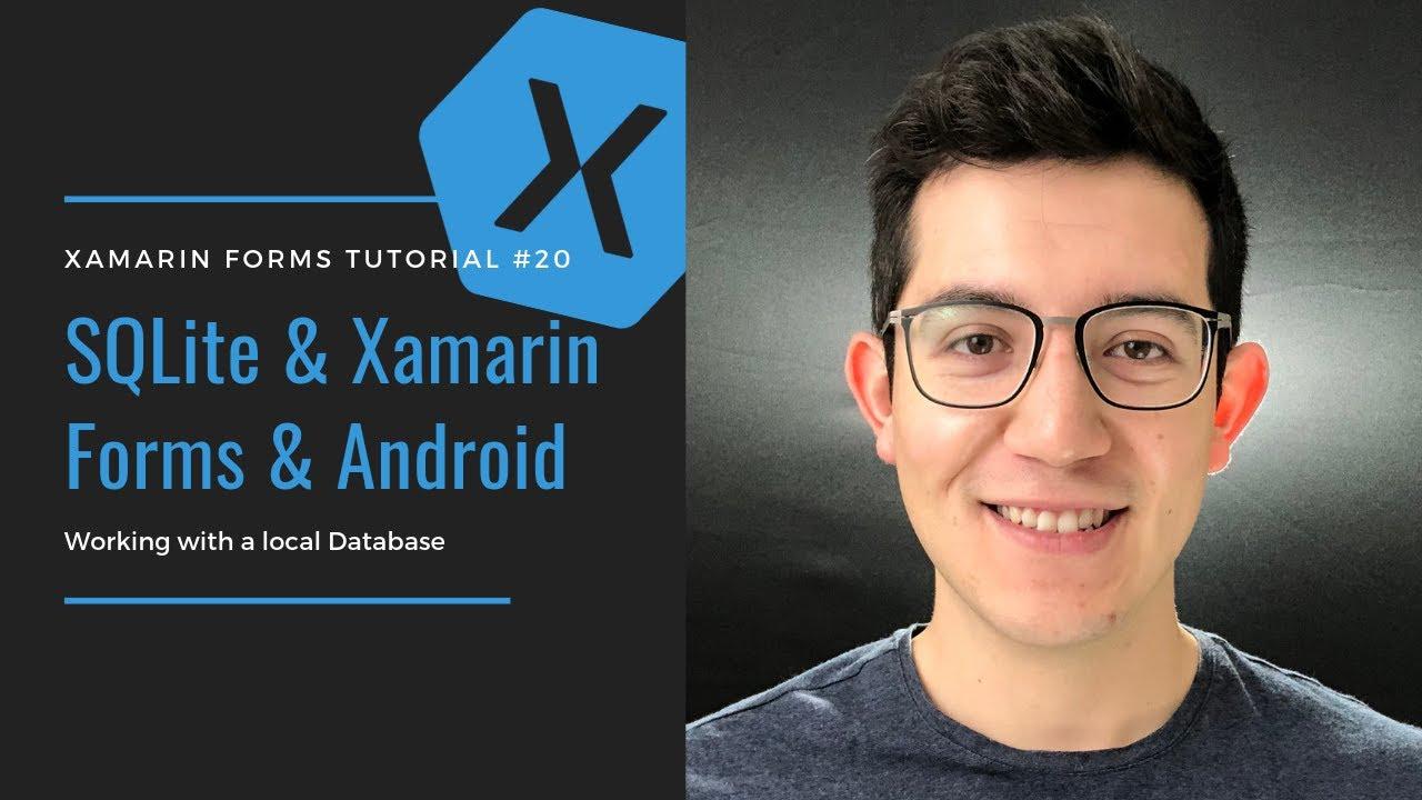 Eduardo Rosas - SQLite Xamarin Forms Tutorial - Android