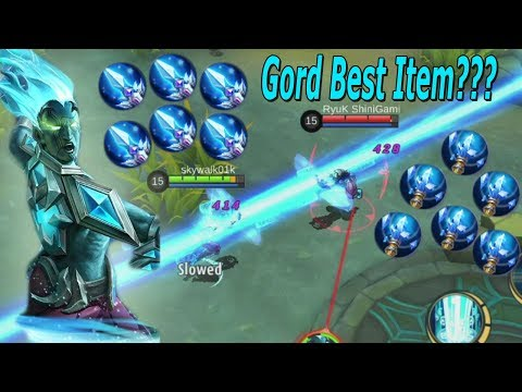Adu Build Gord! Mana yang lebih cocok Ice Queen Wand atau Fleeting Time? Mobile Legends Gord Build