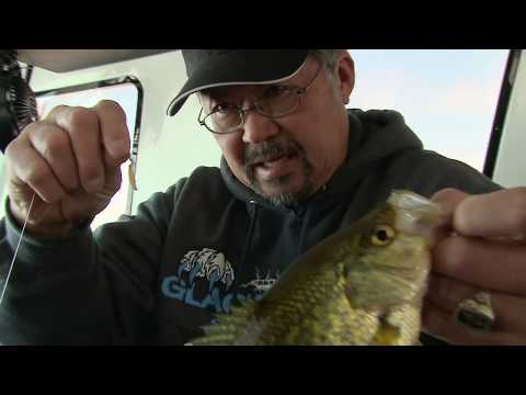 MidWest Outdoors TV Show #1713 - Panfishing on West Lake Okoboji in Iowa with Ted Takasaki