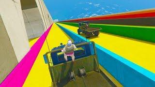 NUEVO MINIJUEGO! EL SUPER TOBOGAN!! - GTA V ONLINE - GTA 5 ONLINE