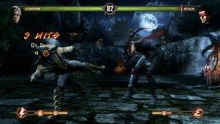 Scorpion Fatality - Mortal Kombat Komplete PC Gameplay