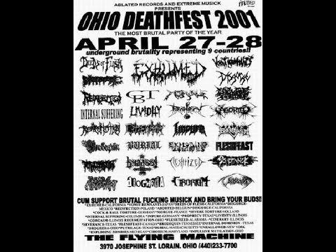 4-28-01 PROPHECY - Ohio Death Fest - Lorain, OH - PT 1