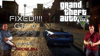 FIXED!!! Grand Theft Auto V error while installing  I GTA V ISDone.dll and Unarc.dll Error Fix