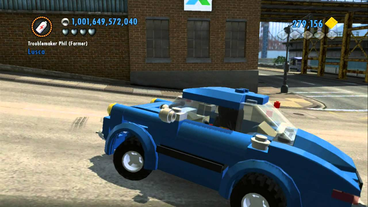 Lego City Undercover Vehicle Guide All Performance Vehicles In Action Youtube