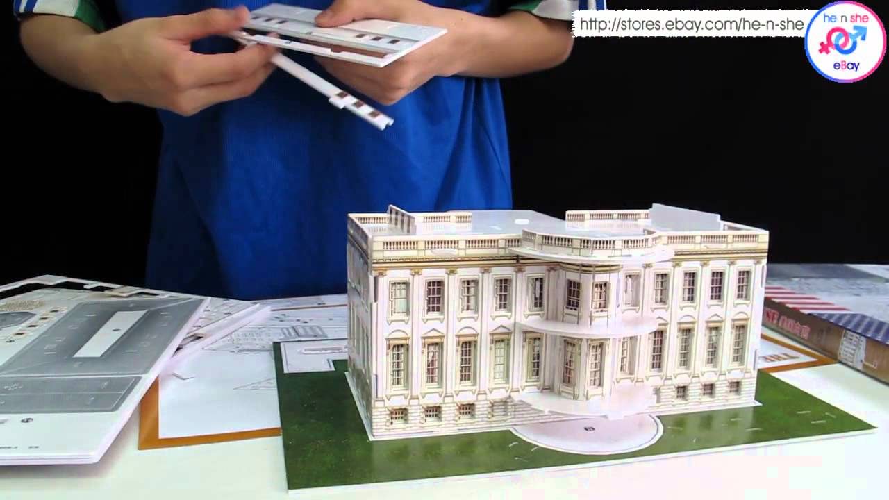 Merveilleux Build A White House At Home   YouTube