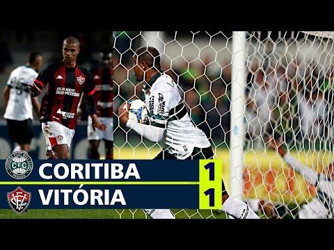 Coritiba 1 x 1 Vitória - Melhores momentos Brasileirão série B 2019