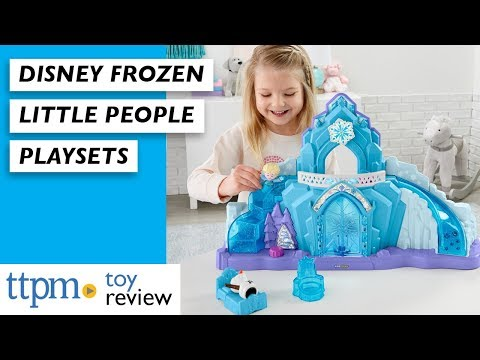 Disney Frozen Little People Elsa's Ice Palace And Kristoff's Sleigh Toy Reviews From Fisher-Price
