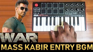 Download song War Mass Kabir Entry Bgm By Raj Bharath  | Hrithik Roshan | Tiger Shroff | Vishal & Shekhar