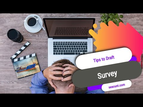 Tips to Draft Survey