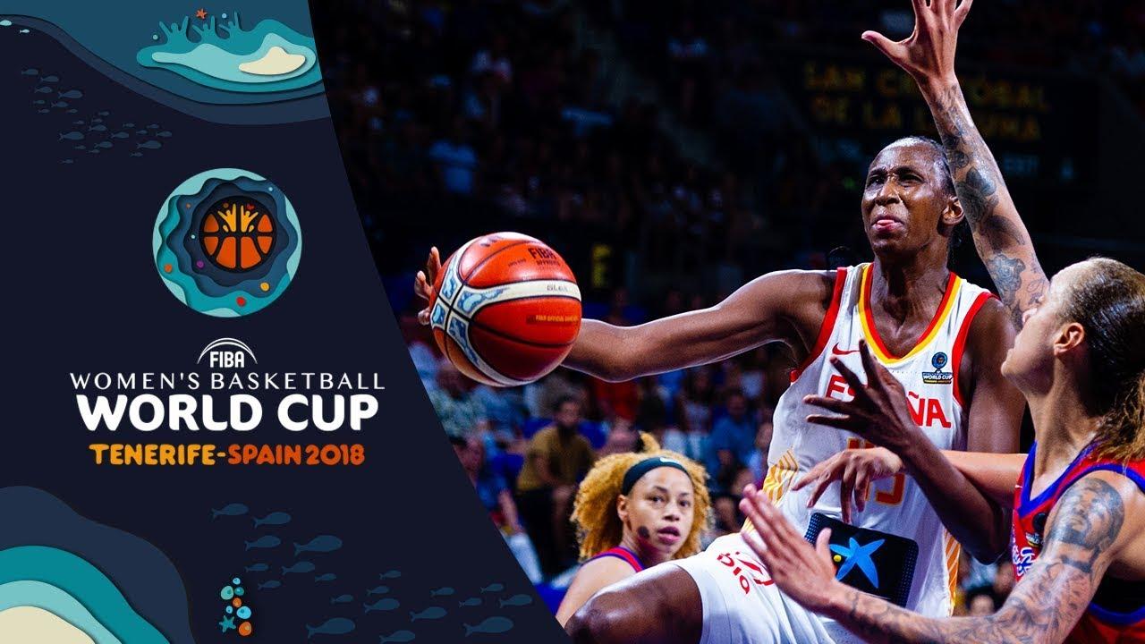 Astou Ndour - Spain's MVP at the FIBA Women's Basketball World Cup 2018