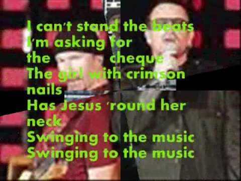 U2 Vertigo with Lyrics
