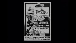 The Headfall Attitudes + The Visitors - Live, Kulturfabrikken Nykøbing F. 30.3.2002