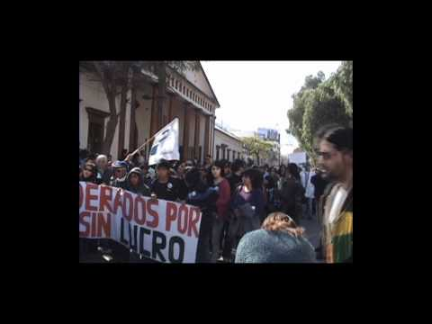 Marcha Estudiantil sin corte  Cppo 30 junio2011