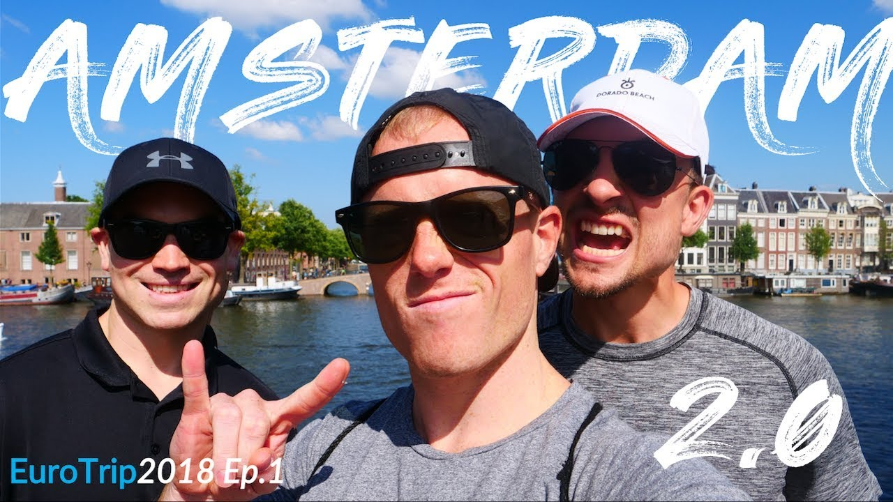 BACK IN AMSTERDAM! ?? Episode 1:  How to Travel Forever ✈️ ? Euro Summer 2018