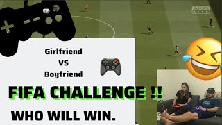 GIRLFRIEND VS BOYFRIEND FIFA CHALLENGE!