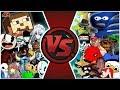 MEMES vs INDIE GAMES TOTAL WAR! Cartoon Fight Club Fan Episode