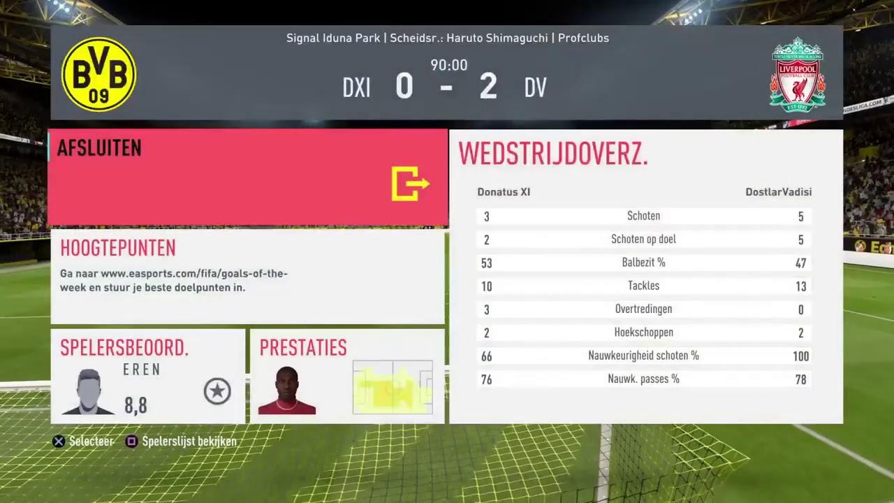 VPG Playoffs Dostlarvadisi VS Donatus XI 2 0