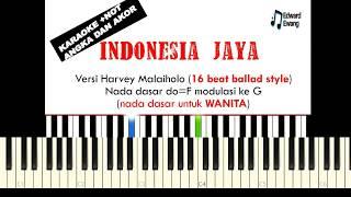 Karaoke INDONESIA JAYA Chaken.M | Lagu Pilihan Wajib Fls2n Tahun 2019