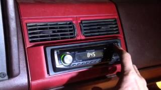 How to set clock on pioneer deh-1900mp