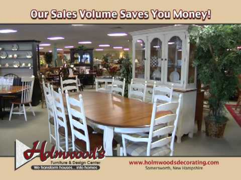 Captivating Holmwoods Furniture U0026 Design Center In Somersworth NH, TV Spot May 2011