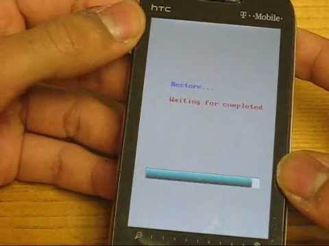How to erase / reset HTC Touch Pro 2 for T-mobile personal data and phone settings