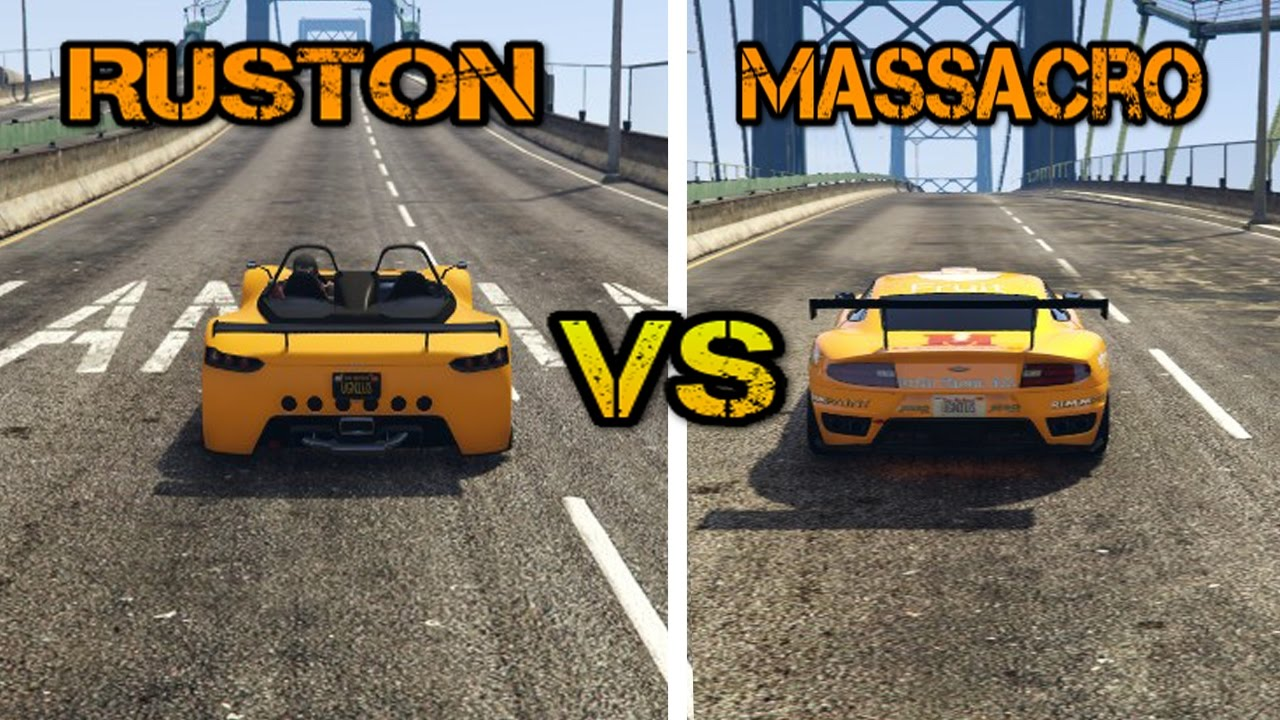 new hijak ruston vs dewbauchee massacro gta5 online. Black Bedroom Furniture Sets. Home Design Ideas