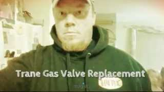 Trane Furnace Gas Valve..... No Heat #HVAC