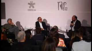 Contardo Calligaris, Ricardo Guimarães e Miguel Nicolelis