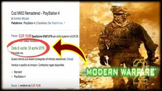 Modern Warfare 2 Remastered Officially Confirmed? LEAKED RELEASE DATE APRIL 30TH, 2018 (COD MW2)