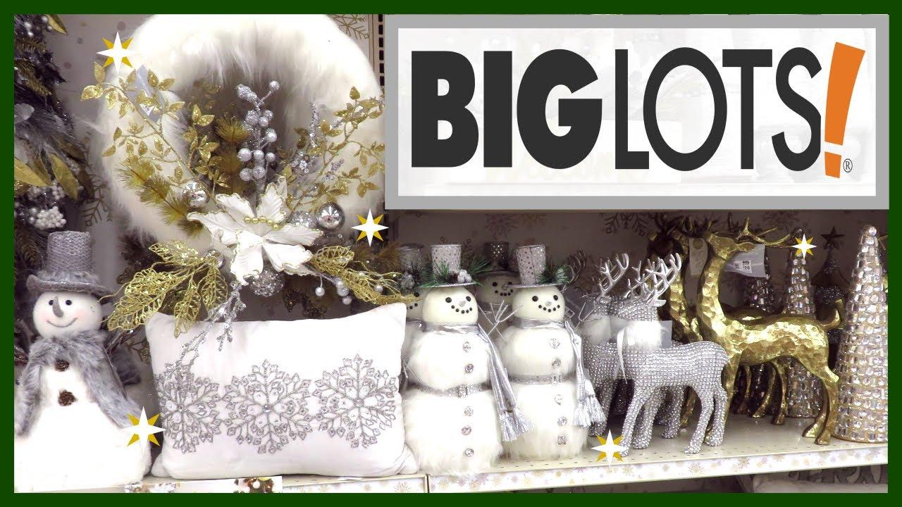 Big Lots Christmas Decor 2019 Vlogtober 2019 Youtube