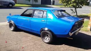 1976 Datsun 120Y Sedan turbo walkaround